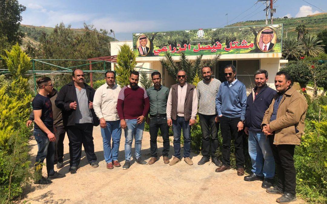 تدريب على إدارة المشاتل الزراعية في جرش، الأردن، 16/3/2020-15