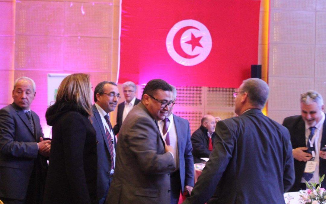 المنتدى الإقليمي الأول لمشروع ميناريت حول الترابط بين المياه والطاقة والغذاء في المنستير، تونس في 13/2/2018