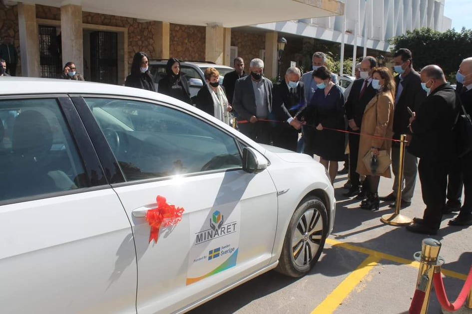 Electric Car Delivered to Monastir Municipality