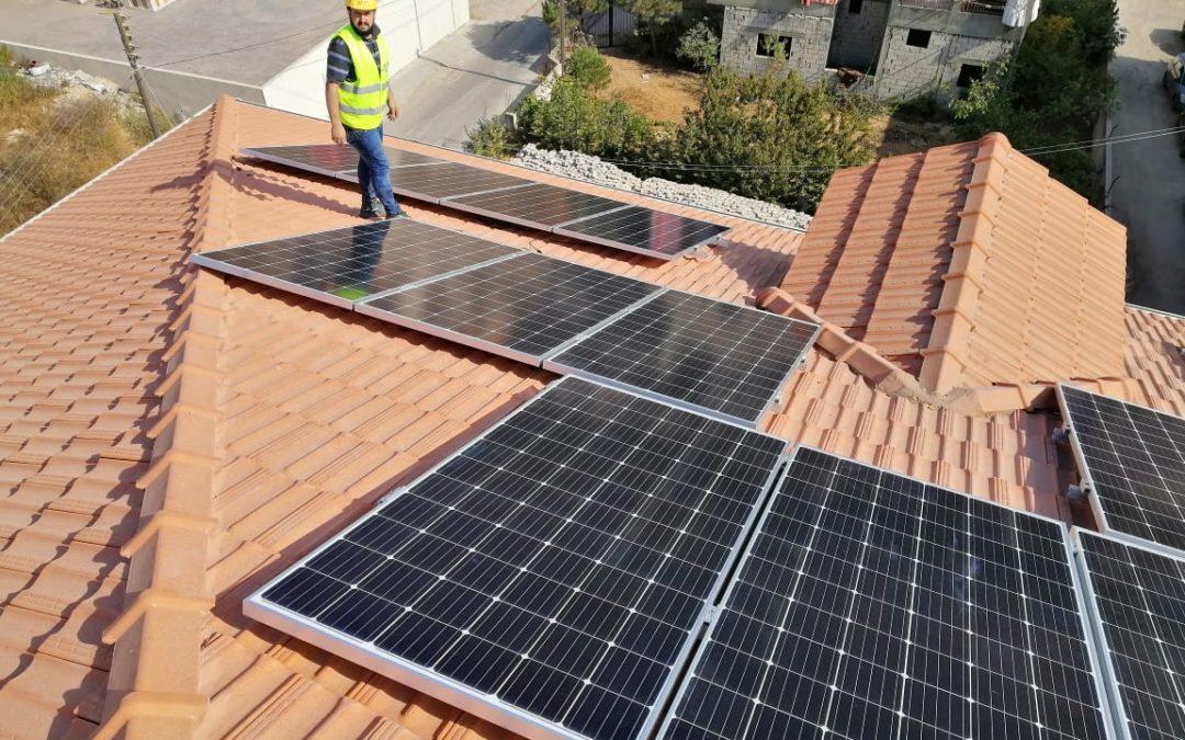 مشروع الطاقة الشمسية لمبنى بلدية جديدة الشوف – لبنان
